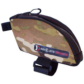 Revelate Designs Jerrycan Toptube Bag bent, multi camo